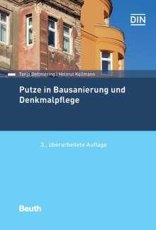 Tanja Dettmering: Putze in Bausanierung und Denkmalpflege, Buch