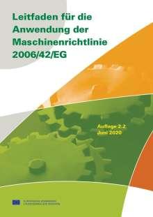 Leitfaden für die Anwendung der Maschinenrichtlinie 2006/42/EG, Buch