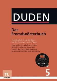 Duden 05. Das Fremdwörterbuch, Buch
