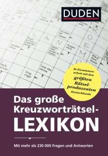 Dudenredaktion: Duden - Das große Kreuzworträtsel-Lexikon, Buch