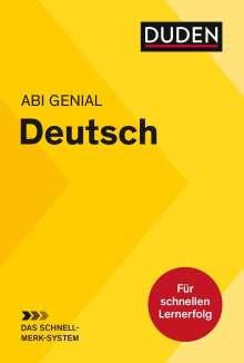 Monika Bornemann: Abi genial Deutsch: Das Schnell-Merk-System, Buch