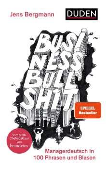 Jens Bergmann: Business Bullshit, Buch