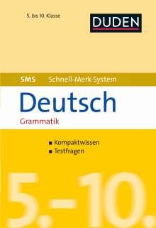 Birgit Hock: SMS Deutsch - Grammatik 5.-10. Klasse, Buch
