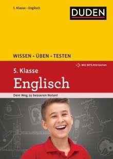 Birgit Hock: Wissen - Üben - Testen: Englisch 5. Klasse, Buch
