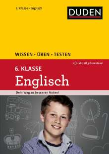 Birgit Hock: Wissen - Üben - Testen: Englisch 6. Klasse, Buch