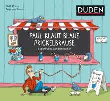 Steffi Korda: Paul klaut blaue Prickelbrause - Superfreche Zungenbrecher - ab 5 Jahren, Buch