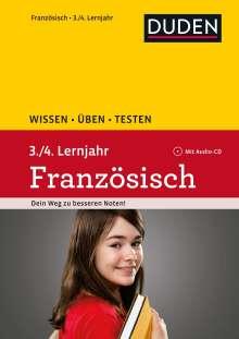 Ulrike Jahn-Sauner: Wissen - Üben - Testen: Französisch 3./4. Lernjahr, Buch