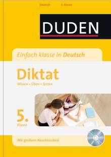Birgit Kölmel: Einfach klasse in Deutsch - Diktat 5. Klasse, Buch