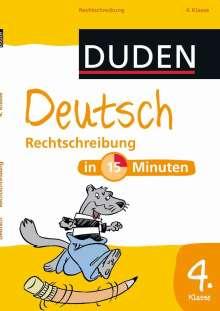 Deutsch in 15 Minuten - Rechtschreibung 4. Klasse, Buch