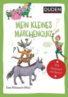 Andrea Weller-Essers: Duden Minis (Band 41) - Mein kleines Märchenquiz / VE mit 3 Exemplaren, Buch