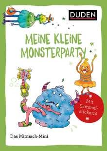 Andrea Weller-Essers: Duden Minis (Band 44) - Meine kleine Monsterparty / VE mit 3 Exemplaren, Buch