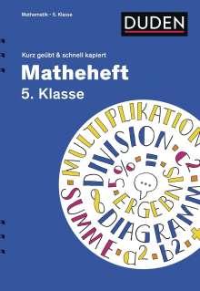 Fritz Kammermeyer: Matheheft 5. Klasse - kurz geübt & schnell kapiert, Buch