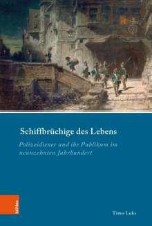 Timo Luks: Schiffbrüchige des Lebens, Buch
