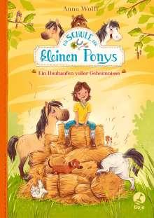 Anne Wolff: Die Schule der kleinen Ponys - Ein Heuhaufen voller Geheimnisse, Buch