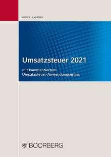 Jörg Grune: Umsatzsteuer 2021, Buch