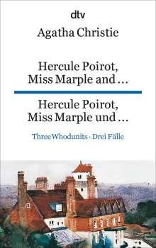 Agatha Christie: Hercule Poirot, Miss Marple and ..., Hercule Poirot, Miss Marple und ..., Buch
