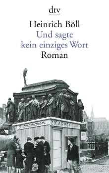 Heinrich Böll: Und sagte kein einziges Wort, Buch