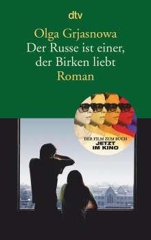 Olga Grjasnowa: Der Russe ist einer, der Birken liebt, Buch