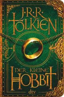 John R. R. Tolkien: Der kleine Hobbit Veredelte Mini-Ausgabe, Buch