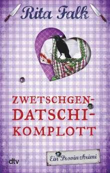 Rita Falk: Zwetschgendatschikomplott, Buch