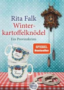 Rita Falk: Winterkartoffelknödel. Großdruck, Buch