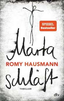Romy Hausmann: Marta schläft, Buch