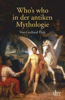 Gerhard Fink: Who's who in der antiken Mythologie, Buch