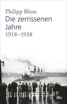 Philipp Blom: Die zerrissenen Jahre, Buch