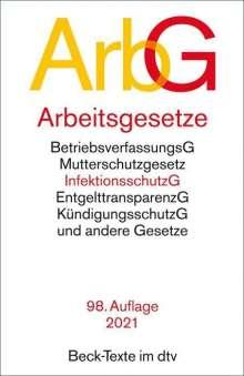 Arbeitsgesetze ArbG, Buch