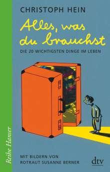 Christoph Hein: Alles, was du brauchst, Buch