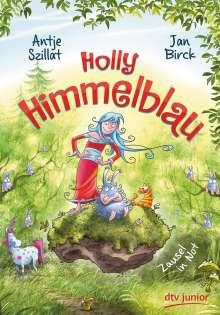 Antje Szillat: Holly Himmelblau - Zausel in Not, Buch