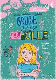 Leonie Below: Grüße aus der pinken Hölle - Lisas verrücktes Tagebuch, Buch