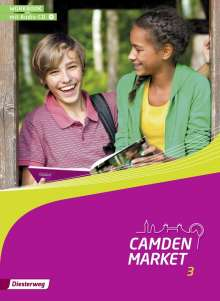 Camden Market 3. Workbook 3 mit Audio-CD, Buch