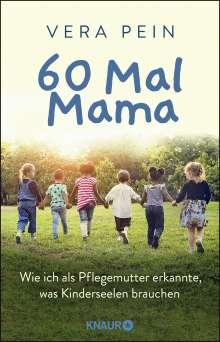 Vera Pein: 60 Mal Mama, Buch
