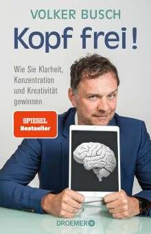 Volker Busch: Kopf frei!, Buch