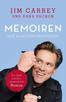 Jim Carrey: Memoiren und Falschinformationen, Buch