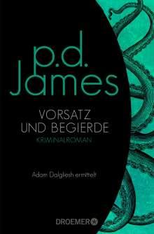 P. D. James: Vorsatz und Begierde, Buch