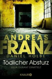 Andreas Franz: Tödlicher Absturz, Buch