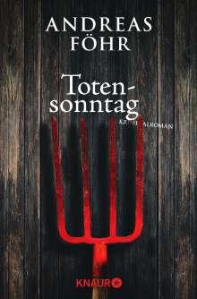Andreas Föhr: Totensonntag, Buch