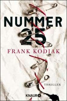 Frank Kodiak: Nummer 25, Buch