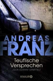 Andreas Franz: Teuflische Versprechen, Buch
