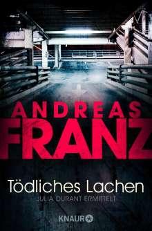 Andreas Franz: Tödliches Lachen, Buch