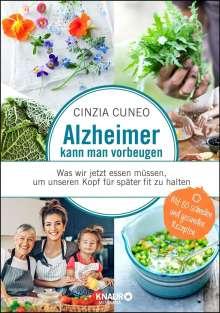 Cinzia Cuneo: Alzheimer kann man vorbeugen, Buch