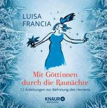 Luisa Francia: Mit Göttinnen durch die Raunächte, Buch
