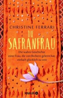 Christine Ferrari: Die Safranfrau, Buch