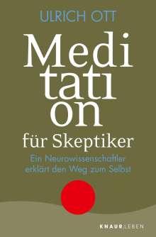 Ulrich Ott: Meditation für Skeptiker, Buch