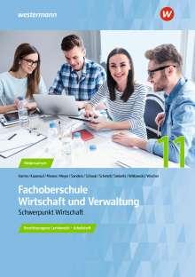 Sarah-Katharina Siebertz: Fachoberschule Wirtschaft und Verwaltung - Schwerpunkt Wirtschaft. Arbeitsheft. Klasse 11, Buch