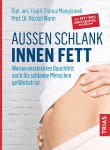 Franca Mangiameli: Außen schlank - innen fett, Buch