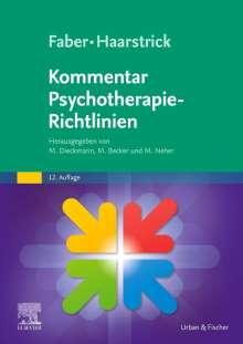 Faber/Haarstrick. Kommentar Psychotherapie-Richtlinien, Buch