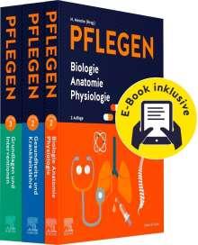 Christine Keller: PFLEGEN Lernpaket 2.A. + E-Books, Buch